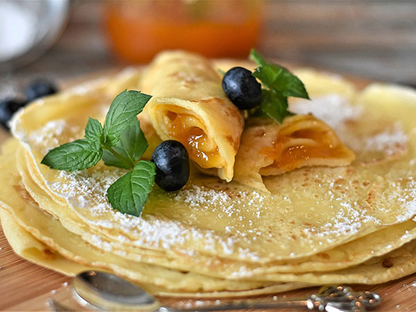 French Crepe Day at DelFosse WInery